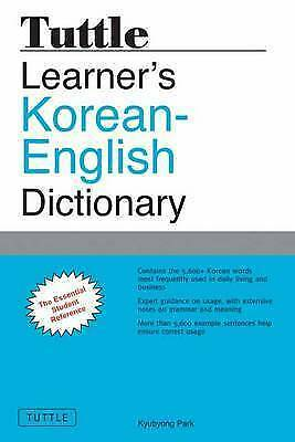 Tuttle Learner's Korean-English Dictionary by Kyubyong Park (Paperback, 2012)