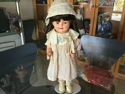 """Antique """"Petite"""" American Character doll composition with cloth body ca 1930s"""