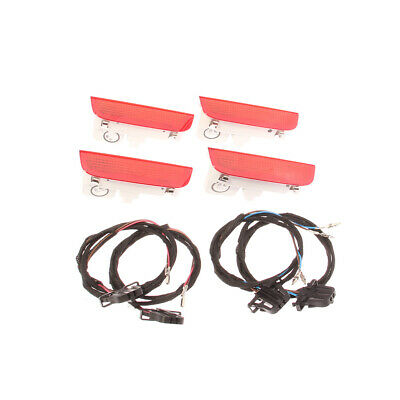 4 Pairs Door Panel Warning Lights Kit Fit For VW Golf Jetta Skoda #1K0947411A#