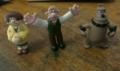 Rare Wallace and Gromit Collectible Figures Figurines