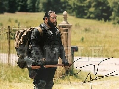 The Walking Dead signed 8x10 Autograph Photo RP - Free Shipping! Cooper Andrews