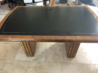 Art Deco 1930's Walnut Desk
