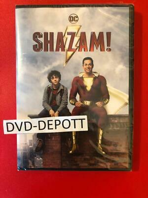 Shazam! DVD *AUTHENTIC DVD READ DESCRIPTION* Brand New FAST Free Shipping