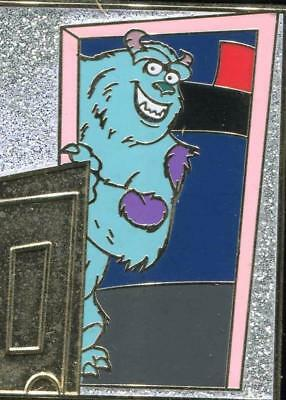 2013 Pixar Mystery Monsters Inc. Sulley CHASER LE 200 Disney Pin 95094