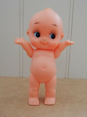 Kewpie Doll   20Cm High Blue Eyes & Angel Wings & Movable Limbs  Remember These?