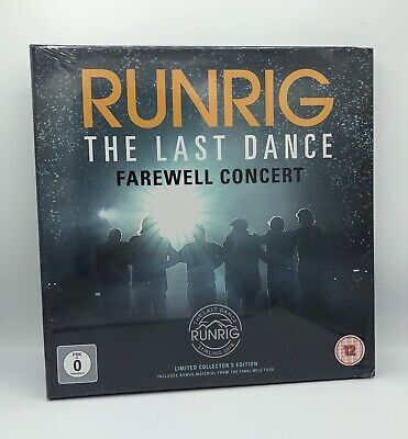 Runrig 'THE LAST DANCE : FAREWELL CONCERT' 3 CD + 2 DVD Collectors Set 2019