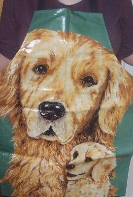 Golden Retriever Cooking Apron by Ulster Weavers Cotton PVC