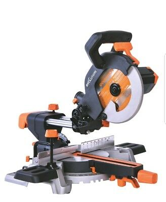 Evolution R185Sms 185Mm Single-Bevel Sliding Compound Mitre Saw 220 -240V
