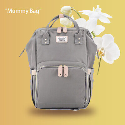 Baby Diaper Nappy Changing Mummy Bag Large Hospital Rucksack Maternity Backpack