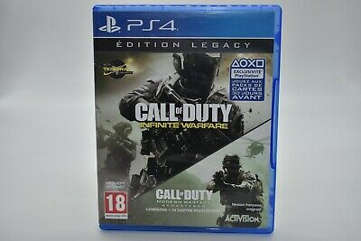 Jeu Ps4 Call Of Duty Infinite Warfare Edition Legacy