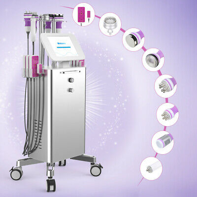 9In1 Unoisetion Cavitation Radio Frequency Vacuum Cellulite Removal Spa Machine