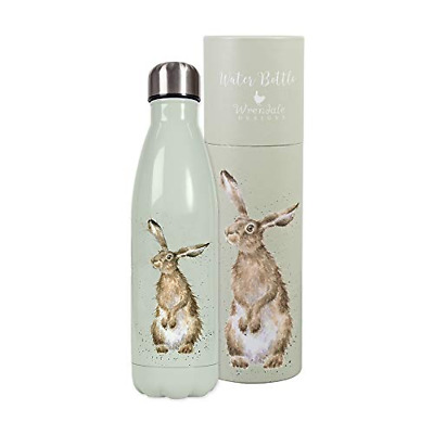 Wrendale Designs 500ml Water Bottle Boxed Hare
