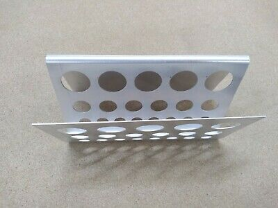 Aluminium Test Tube Rack Z Rack. Job Lot. 20 Packs Of 5.