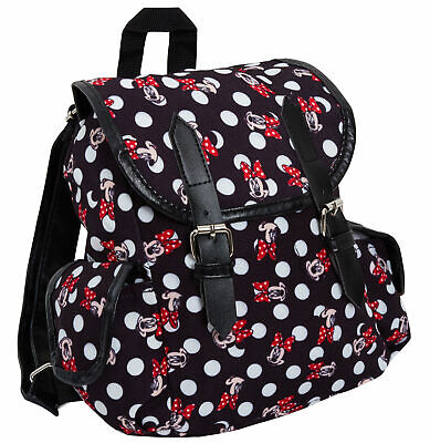 Disney Minnie Mouse Luxury Duffle Bag Backpack Womens Girls Kids School Roxy Bag