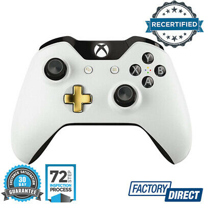 Official Microsoft Xbox One S Wireless Controller Lunar White Genuine Special Ed