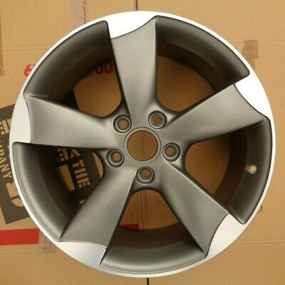 "Refurbished Genuine Audi A3 / S3 18"" Rotor Alloy Wheel x 1 - 8P0601025BS"