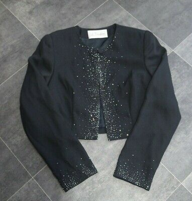 Fab Ladies J Taylor Beaded Evening Jacket Size 8 - In Very Good Condition