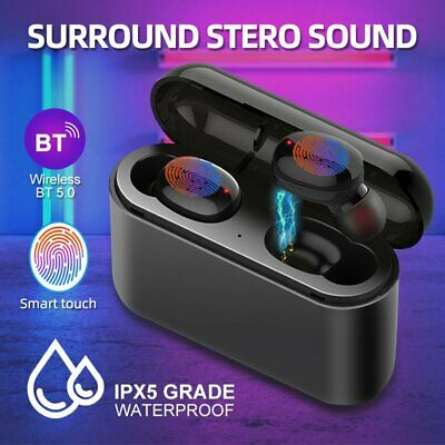 2019 *NEW* TOUCH CONTROL Wireless Bluetooth Headphones Headset Earbuds