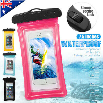 Floating Waterproof Under Water Phone Case Pouch Bag Seal For iPhone Samsung S10