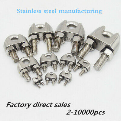 304 stainless steel wire rope clamp,chuck,U clamp, wire clamp,chuck screw clamp