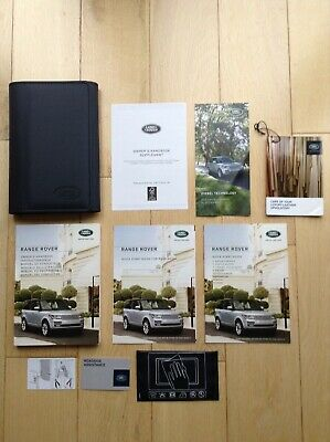 Range Rover Autobiography Vogue Se Owners Car Manual Handbook L405 2013 To 2018