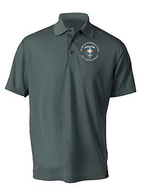 313th Military Intelligence Battalion Embroidered Polo Shirt (XL ONLY) -3485