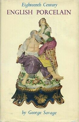 18th Cent. English Porcelain Figurines History Types Makers Marks / Scarce Book
