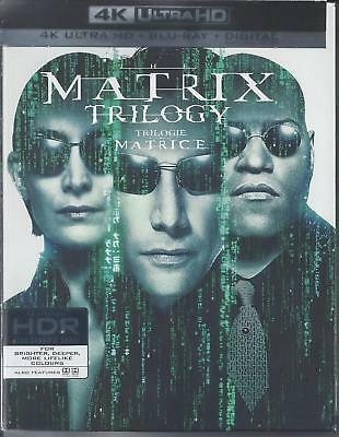 The Matrix Trilogy (4K Ultra Hd/Bluray)(9 Disc Set)(Used)