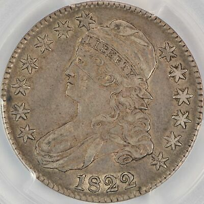 1822 50C Capped Bust Half Dollar PCGS XF40 CAC