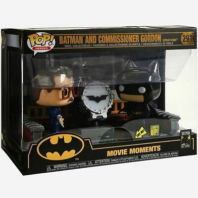 Funko Pop! Movie Moment: Batman 80th with Light Up Bat Signal 291 37258 In stock