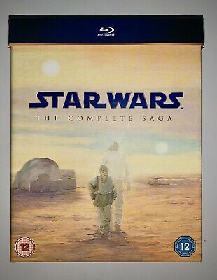 Star Wars: The Complete Saga Collection (Blu-ray 2011) 9-Disc Box Set
