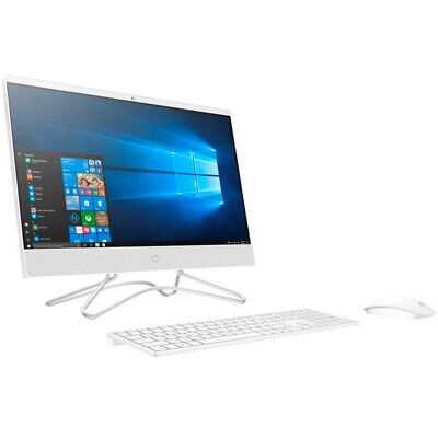 HP All-in-One Computer White 21.5 Celeron, 4GB, 1 TB HDD, Windows 10 #22C0012DS