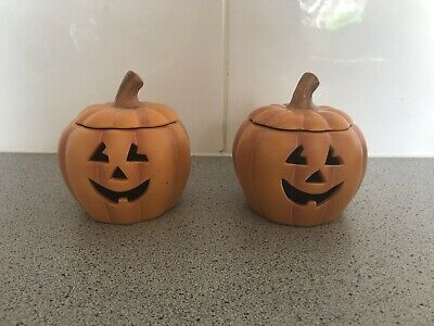 Partylite Pumpkins Perfect For Halloween