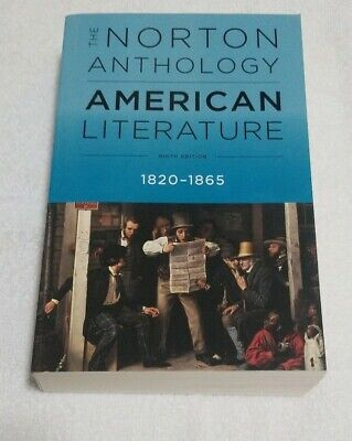 The Norton Anthology of American Literature, 1820-1865 Amy Hungerford Paperback
