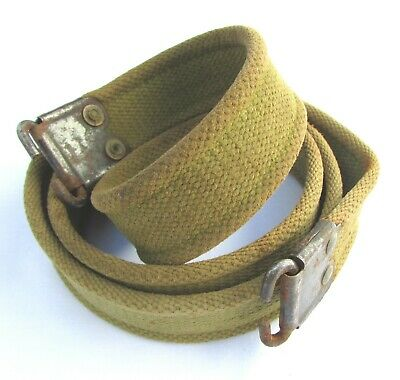 British Lee Enfield No4 Rifle Sling unmarked