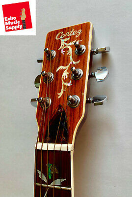RARE Vintage 1970 Cortez J-7000 Tree of Life Acoustic Guitar Made in Japan
