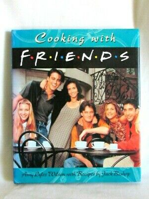 Cooking with Friends NBC TV Show Rachel Phoebe Monica Chandler Ross Joey NEW