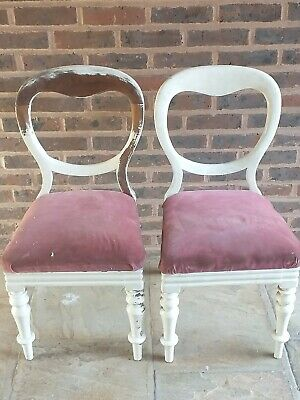 Victorian chairs for restoration/recycling