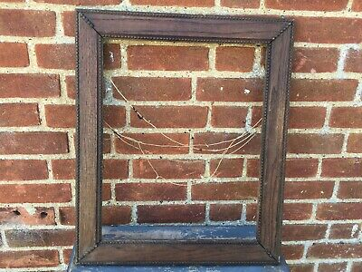 Vintage French Picture Frame Old  Craftsman Made Stunning Old Design Wow Wow Wow