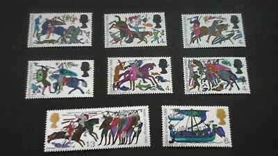 QE11 GB 1966 Commemorative Stamps~Battle of hastings Unmounted mint full Set MNH