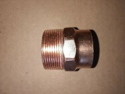 """Bag of 25 1//2/"""" Copper Male Adapter Sweat Solder Joint C x MIP"""