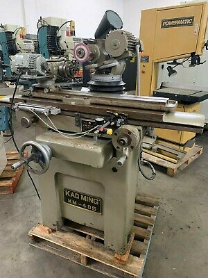 Kao Ming Km-40S Tool And Cutter Grinder With  Work Head