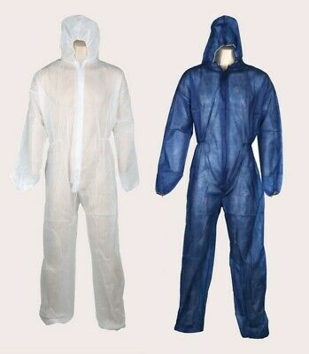 5 x Quality Disposable Protective Coveralls Dust Protection Construction