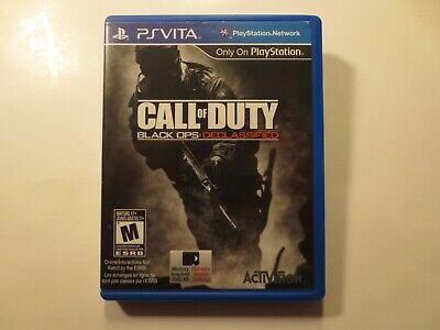Call of Duty Black Ops Declassified - PS VITA (Sony PlayStation Vita) COMPLETE