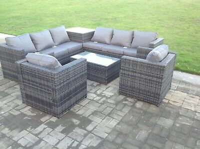 Awesome 2 Seater Rattan Bistro Coffee Table Set Chair Grey Free Dailytribune Chair Design For Home Dailytribuneorg