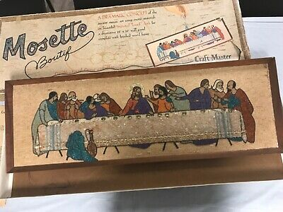 .Last Supper  Mosette Boutif. In excellent condition. Truly one of a kind!