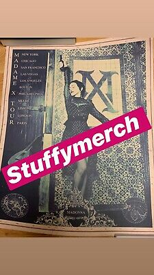 Madonna Official Madame X Tour Poster Rare Limited Edition Direct From Bam