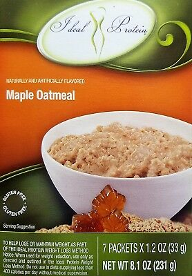 Ideal Protein Maple Flavored Oatmeal Mix