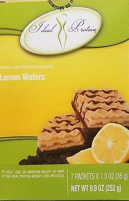 Ideal Protein Lemon Flavored Wafers