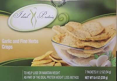 Ideal Protein Garlic and Fine Herbs Crisps